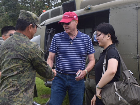 A Heartbreaker and a Heartwarmer: Philippine Armed Forces Escort GRM Executives to visit Marawi City