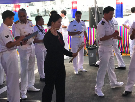 South Korean Military Invites GRM Founding Directors to RIMPAC Reception