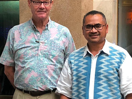 Indonesia Consul General meets with David Day