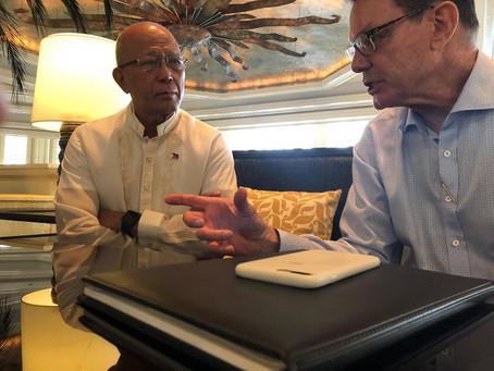 GRMF Marawi Team Briefs Philippine Secretary of Defense