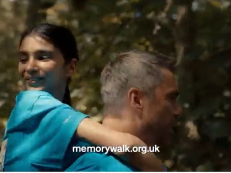 Amaya in Memory Walk ad