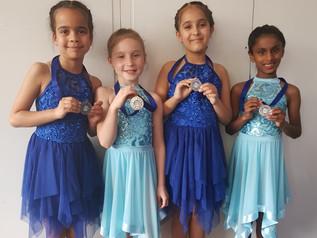 Dance competition success!