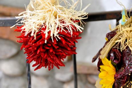 peppers in aldea