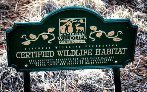 Wildlife Habitat - CERTIFIED
