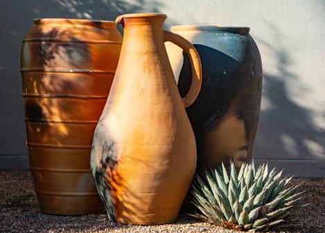 pots in aldea