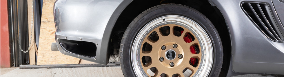 Bespoke Porsche Ducting
