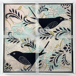2 Blue Bird Coasters Boxed