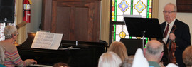 Lutz Mueller violin Pat Masterson piano