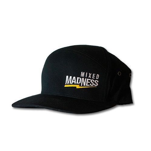 Black Twill Bolt Hat