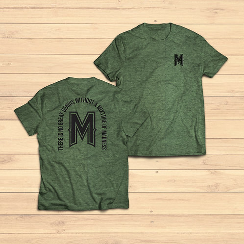 Classic Tee - Heather Military Green