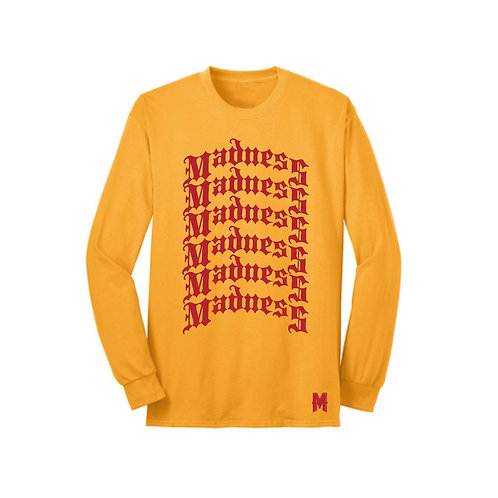 Gold Madness Long Sleeve Tee