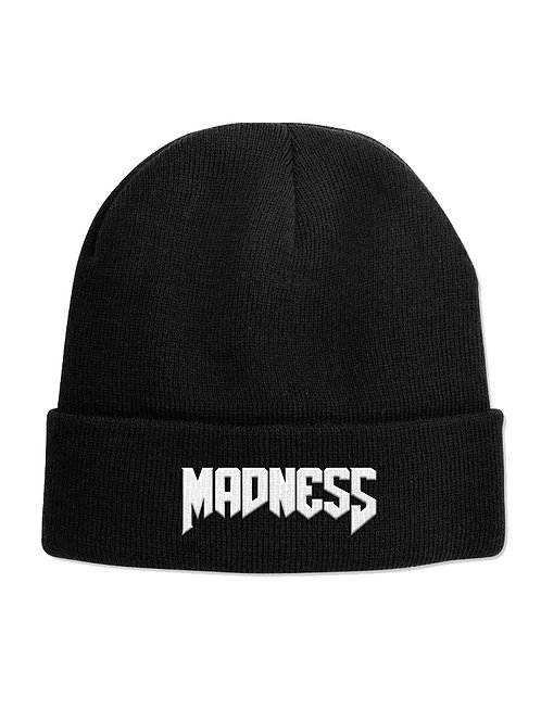 Embroidered Madness Beanie