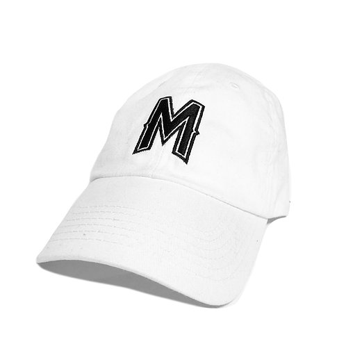 Mixed Madness Dad Hat - White