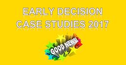 Seminar Information: ED Case Studies 2017