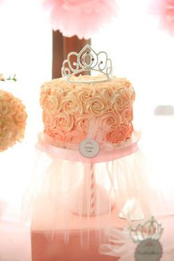 Customised Princess Birthday Cake
