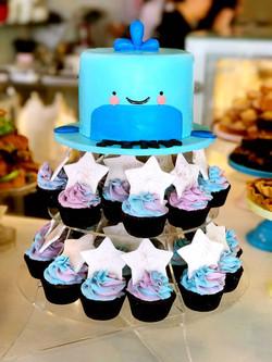 Whale Cake Design