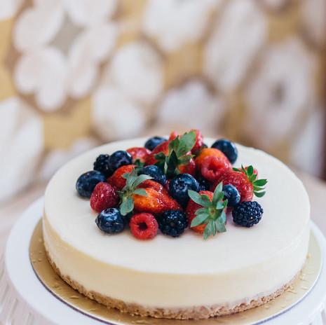 Carpenter and Cook's Yuzu Cheesecake