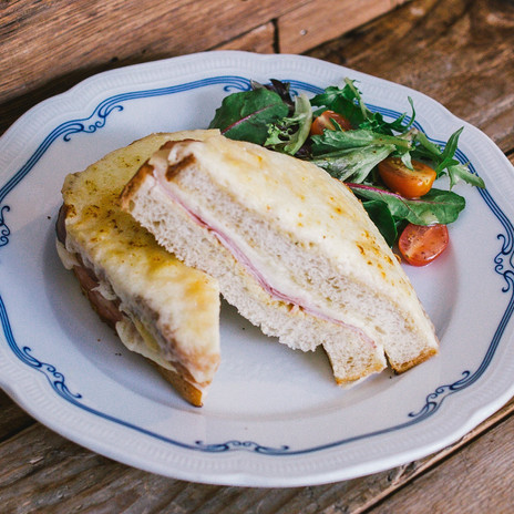 Carpenter and Cook's Croque Monsier