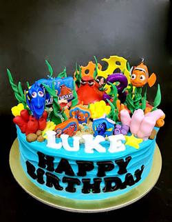 Disney Nemo Cake Design