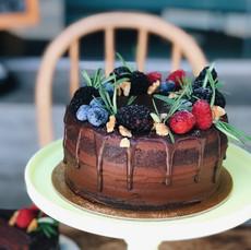 Carpenter and Cook's Chocolate Fudge Cake