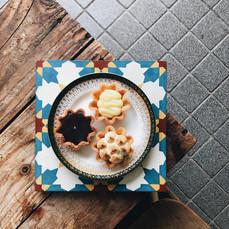 Carpenter and Cook's Tarts