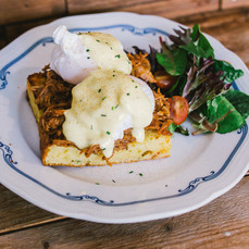 Carpenter and Cook's Pulled Pork Eggs Benedict