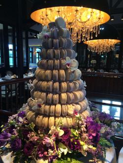 Wedding Macaroon Tower