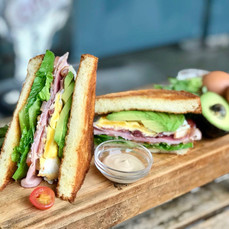 Carpenter and Cook's Club Sandwich