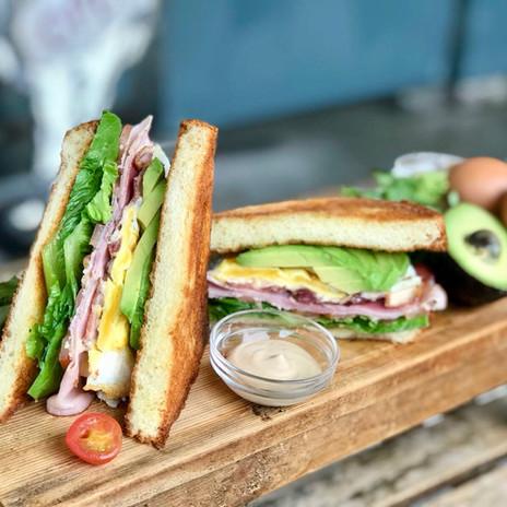 Carpenter and Cook's Club Sandwich