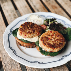 Carpenter and Cook's Crab Cakes