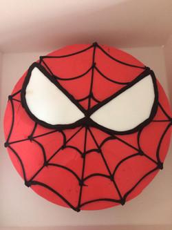 Customised Spiderman Birthday Cake