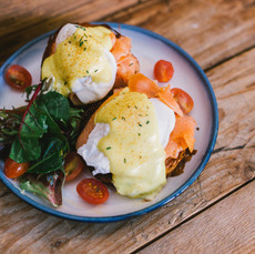 Carpenter and Cook's Smoked Salmon Eggs Benedict