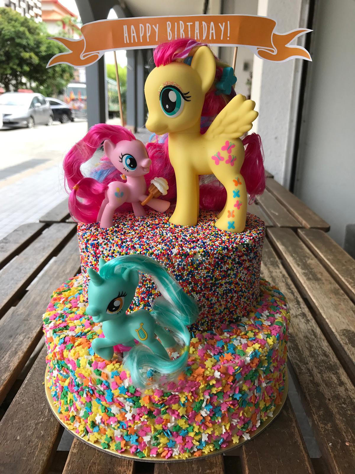 Customised My Little Pony Cake