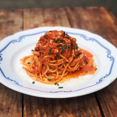 Carpenter and Cook's Crab Meat Pasta