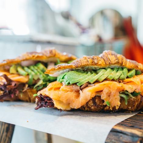Carpenter and Cook's Smoked Salmon Avocado Sandwich