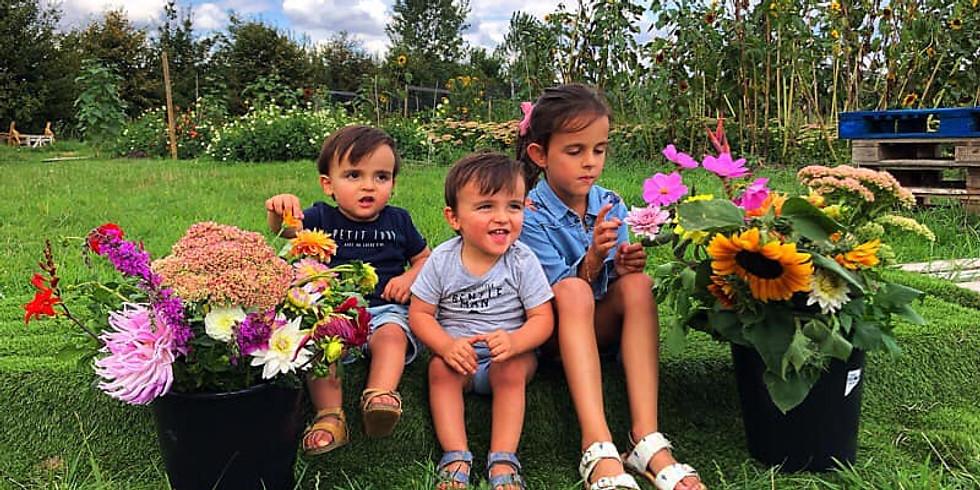 Flower Power voor de Little Heroes