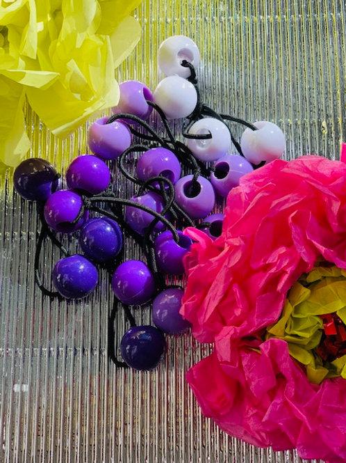 Rainbow Purple Ponytails