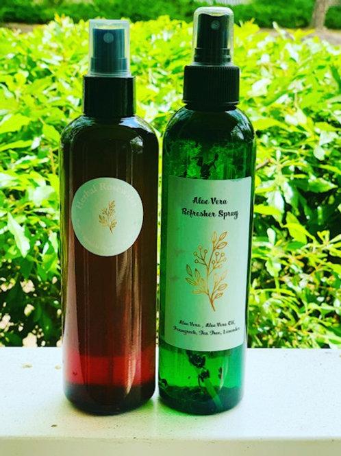 Herbal Rosewater & Aloe Refresher Set