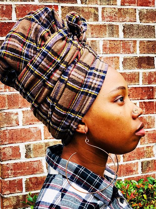Plaid Bonnet to Wrap