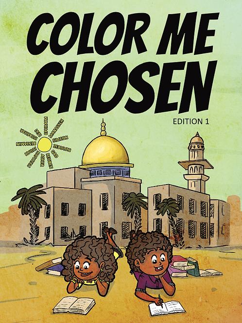 Color Me Chosen Coloring Book