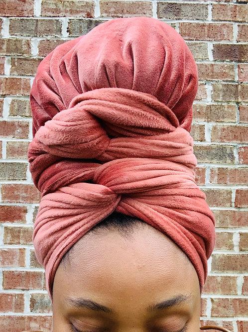 PLush Bonnet to Wrap
