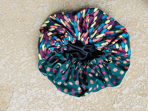 Multi Flower Bonnet