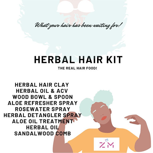 Herbal Hair Kit