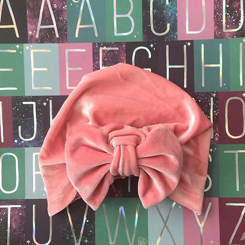 Very Velvet-Pink Turban