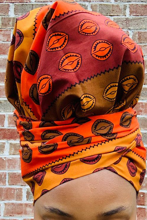 Autumn LeaF Bonnet to Wrap