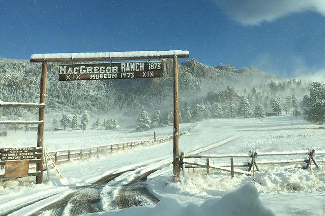MacGregor Ranch, Estes Park, Colorado, Twin Owls