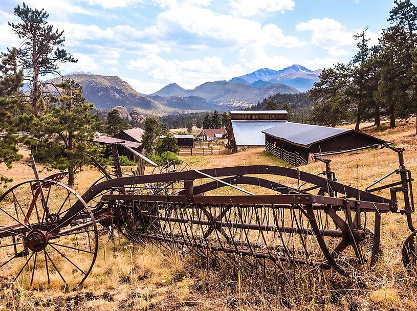MacGregor Ranch, Estes Park, Colorado, Historic Homestead, Longs Peak