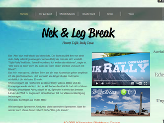Neue Webseite erstellt