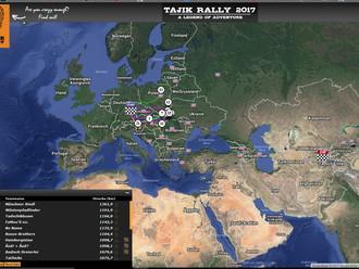 Tajik Rally 17 ist gestartet