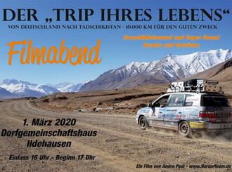 Videoabend in Ildehausen 1.3.2020 16 Uhr